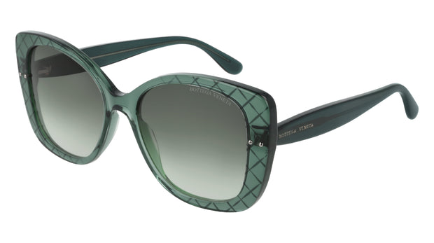 Bottega Veneta BV0198S-004 Rectangle Sunglasses