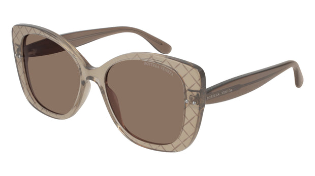 Bottega Veneta BV0198S-002 Rectangle Sunglasses