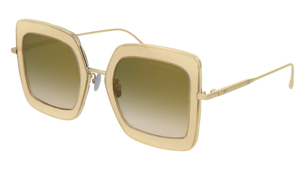 Bottega Veneta BV0209S-004 Women's Rectangle Sunglasses