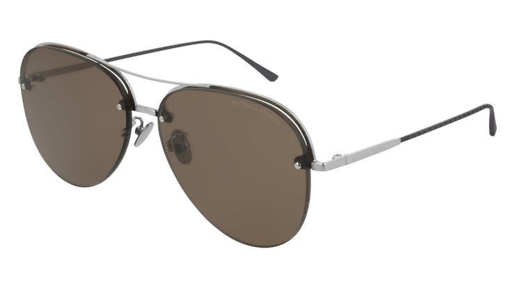 Bottega Veneta BV0206S-002 Women's Aviator Sunglasses