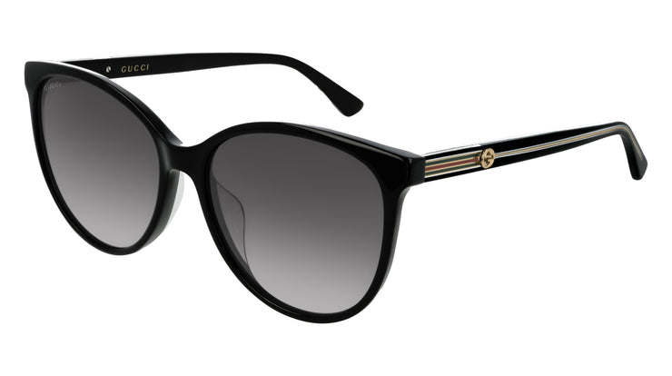 Gucci GG0377SK W Women's Cat-Eye Sunglasses