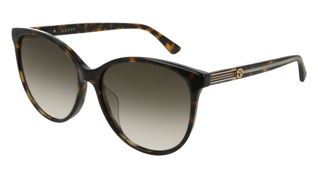 Gucci GG0377SK W Cat Eye Women's Sunglasses