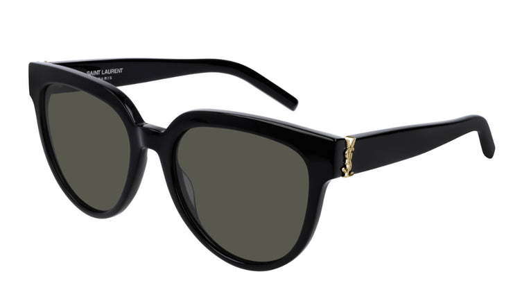 Saint Laurent SL M28 BLK GRY Cat-Eye Sunglasses