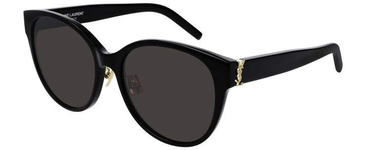 Saint Laurent SL M39/K Women's Round Sunglasses