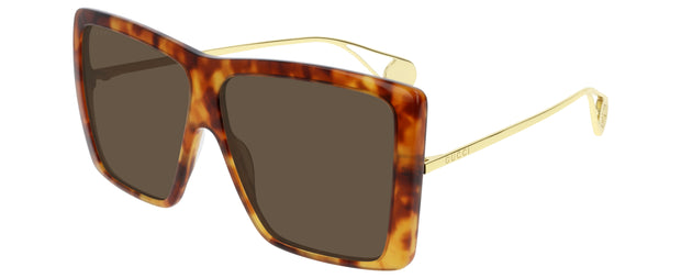 Gucci 0434 Women's Rectangle Sunglasses