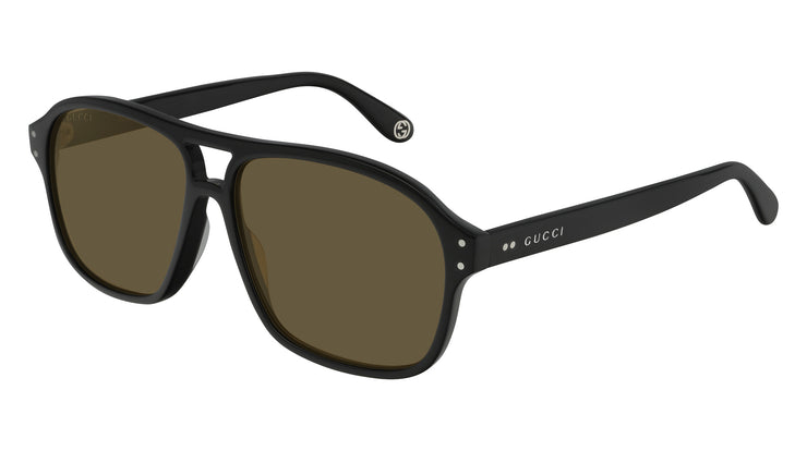 Gucci GG0475S M Rectangle Sunglasses