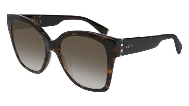 Gucci  GG0459S Women's Rectangle Sunglasses