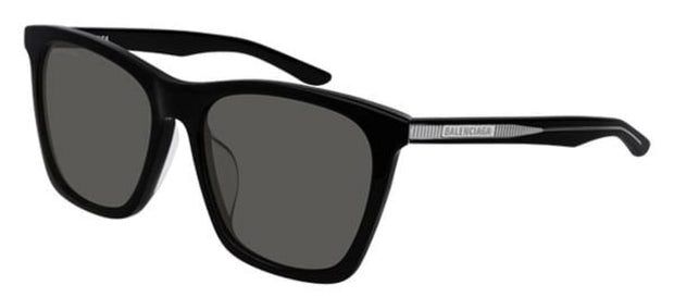 Balenciaga BB0017SK 001 Rectangle Sunglasses