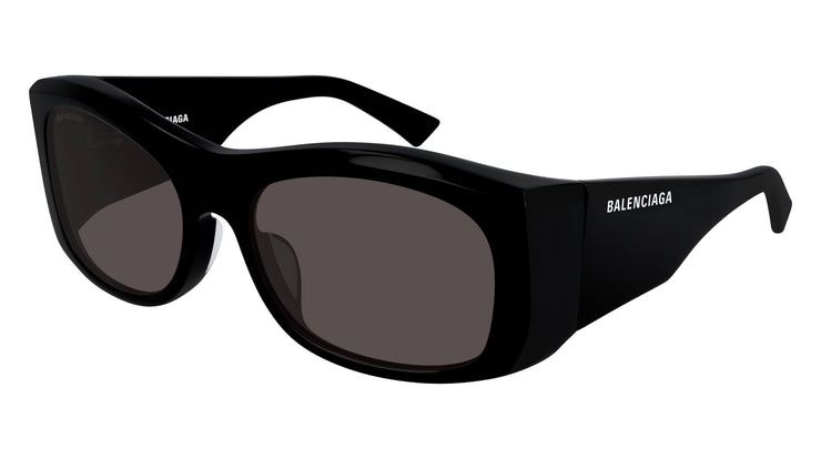 Women's Balenciaga BB0001S-004 Rectangle Sunglasses