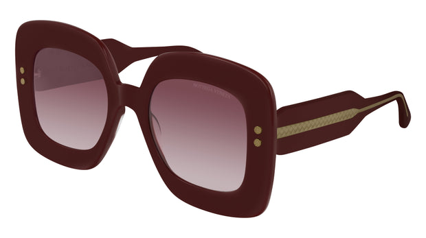 Bottega Veneta BV0237S-003 Rectangle Sunglasses