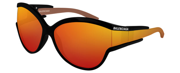 Women's Balenciaga BB0038 Cat-Eye Sunglasses