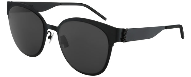 Saint Laurent SL M42-003 Women's Round Sunglasses