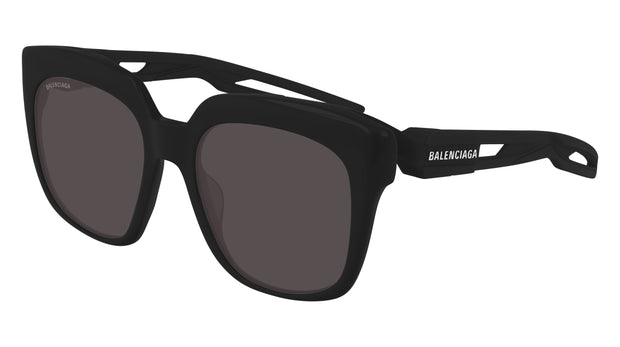 Balenciaga BB0025S-001 Rectangle Women's Sunglasses