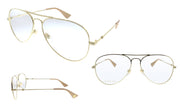 Gucci GG0515O Aviator Optical Frames