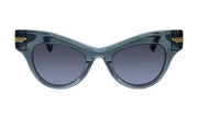 Bottega Veneta BV 1004S 001 Cat Eye Sunglasses