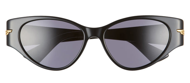 Bottega Veneta BV 1002S 001 Cat Eye Sunglasses