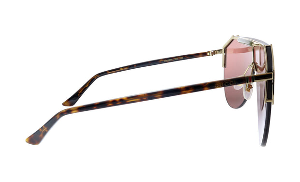 Gucci GG 0584S 003 Shield Sunglasses