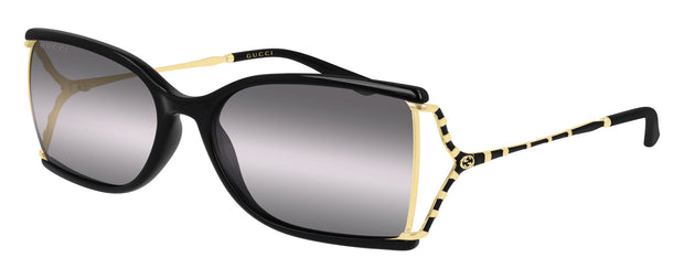 Gucci GG0592S W Rectangle Sunglasses