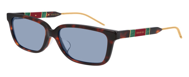 Gucci GG0599SA HAV W Rectangle Sunglasses