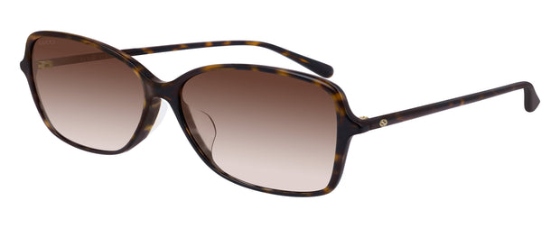 Gucci GG0546SK W Rectangle Sunglasses