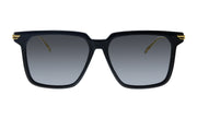 Bottega Veneta BV 1006S 001 Square Sunglasses