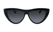 Bottega Veneta BV 1018S 001 Cat Eye Sunglasses