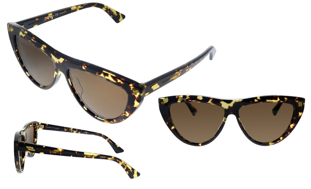 Bottega Veneta BV 1018S 002 Cat Eye Sunglasses
