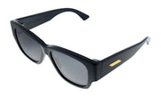Bottega Veneta BV 1026S 001 Rectangle Sunglasses
