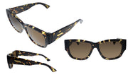 Bottega Veneta BV 1026S 002 Rectangle Sunglasses