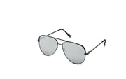 Quay Australia High Key Black Aviator Sunglasses