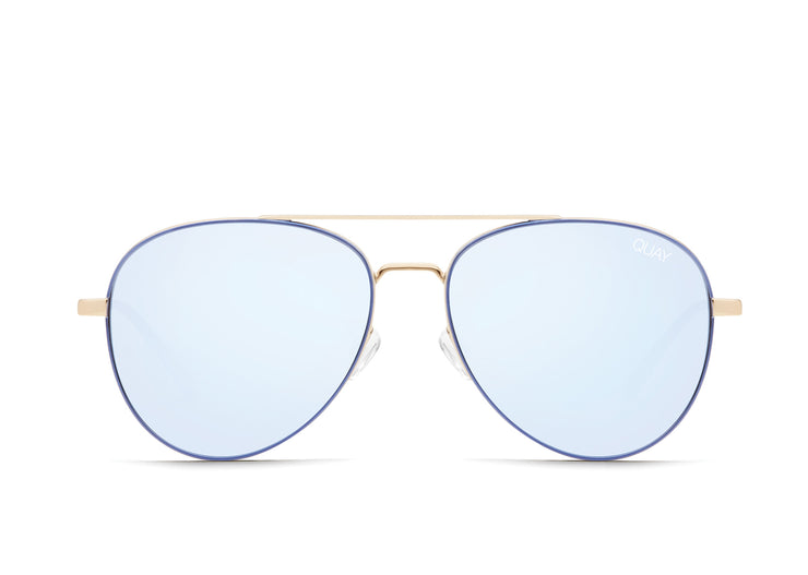 Quay Australia Single Aviator Sunglasses