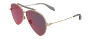 Alexander McQueen AM0058S-30000650004 Aviator Sunglasses