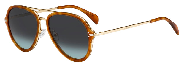 Celine CL 41374/S 0UFP Aviator Sunglasses