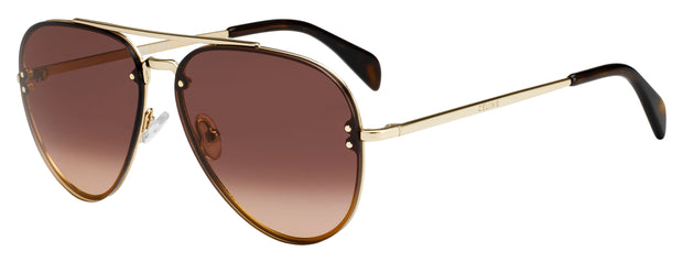 Celine CL 41392/S US 0J5G Aviator Sunglasses