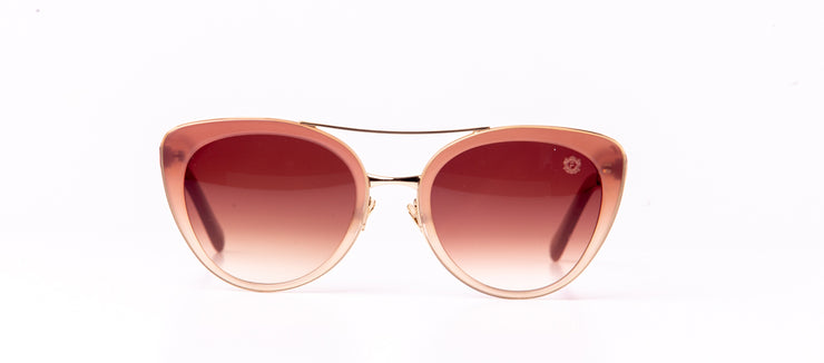 FUBU Frames Montauk Beige Cat Eye Sunglasses