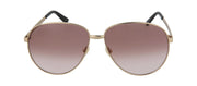 Gucci GG0138S-30001544007 Aviator Sunglasses