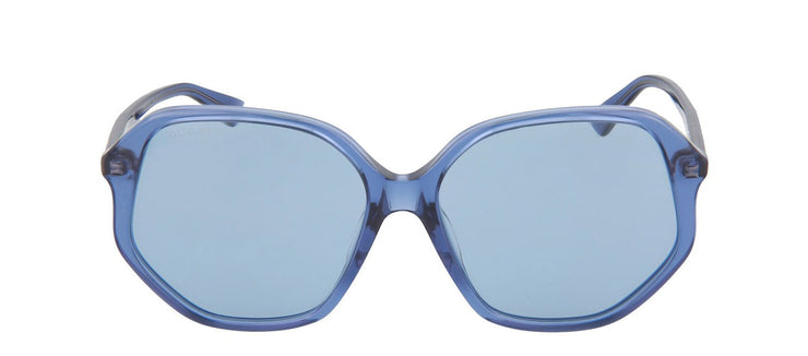 Gucci GG0258SA-30002350003 Oversized Sunglasses