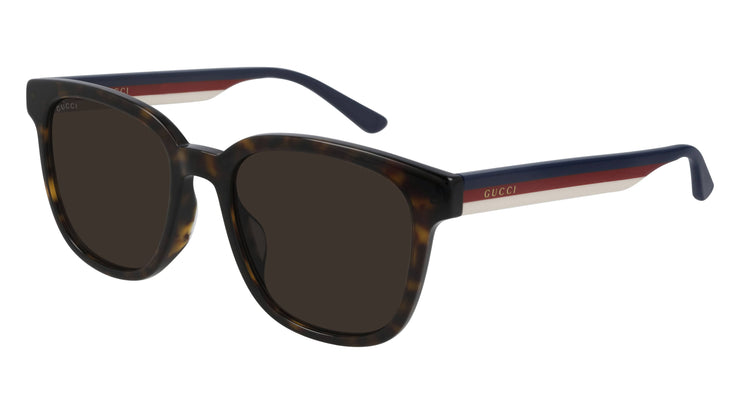 Gucci GG 0848SK 003 Rectangular / Square Sunglasses