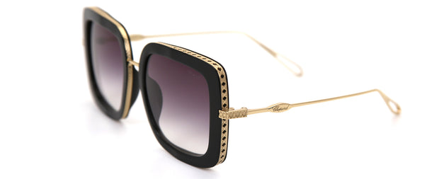 Chopard SCH261M Black Square Sunglasses