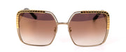 Chopard SCHC78 Gold Square Sunglasses