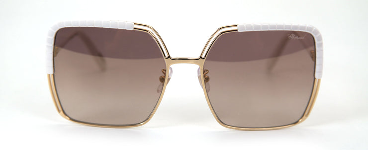 Chopard SCHC78  Silver Square Sunglasses