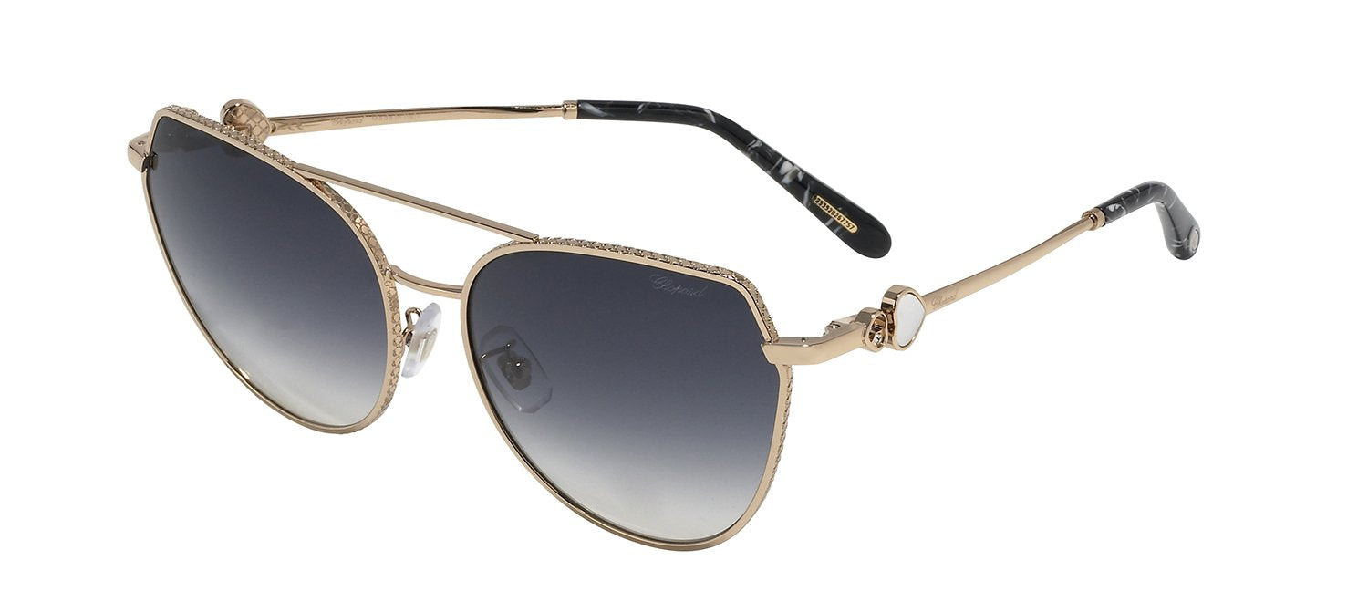 CHOPARD SCHC87S 0300 CAT EYE SUNGLASSES