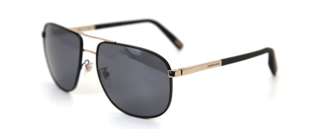 Chopard SCHC92 Black Aviator Sunglasses