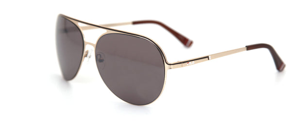 Fila SF9947 Matte Gold Aviator Sunglasses