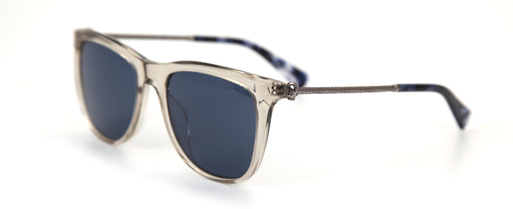John Varvatos V544 Clear Square Sunglasses