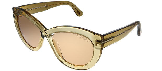 Tom Ford Diane-02 TF 577 Cat-Eye Sunglasses