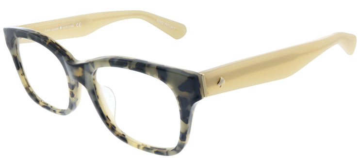 Kate Spade Low Bridge Fit Jonnie/F Square Eyeglasses