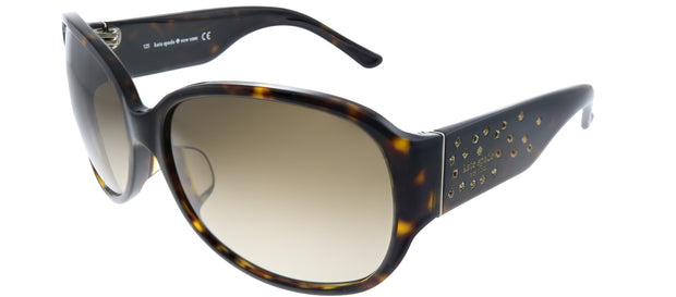 Kate Spade Low Bridge Fit Tate/F/S Oval Sunglasses