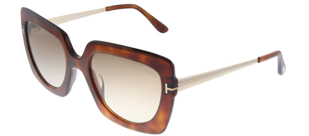 Tom Ford Jasmine-02 TF 610 Square Sunglasses
