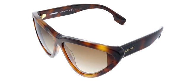 Burberry BE 4292 Geometric Sunglasses